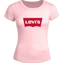 Fashion Levi's Printed For Ladies Womens T-shirt Tee Outlet -