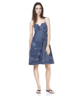 Levi's Damen Kleid/ Mini 558570001, Gr.36(S), Blau (Mid Blue) -