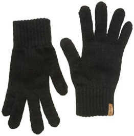 Levi's Damen lofty gloves Handschuhe, Schwarz (BLACK), S(FR) -