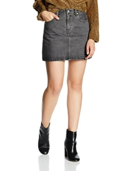 Levi's Damen Rock Icon Skirt, Schwarz (Stone Wash Black 13), W27 -