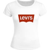 Levis Printed For Ladies Womens T-shirt Tee Outlet -